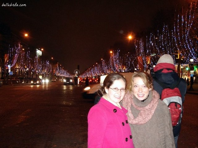 While teaching English in France, my friend Kate and I celebrated Christmas and NYE together! | Belle Brita