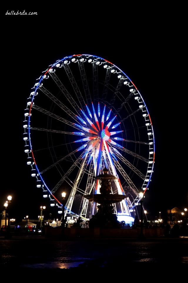 2016 Ferris Wheel on the Champs Elysées | Belle Brita