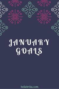 January Goals // December Recap (New Year!)