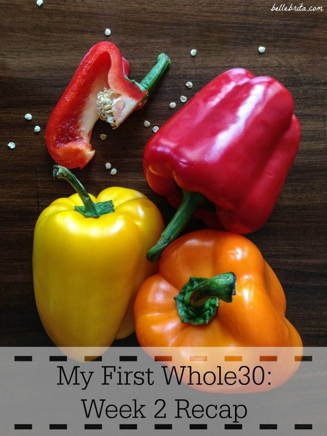 I'm halfway through my first Whole30! This week had more challenges and a few mistakes, but I'm not giving up. | Belle Brita