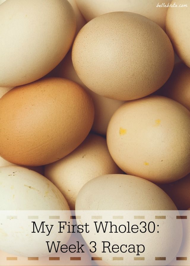 Week 3 of Whole30 has been my easiest yet. Keep reading for easy paleo meal ideas! | Belle Brita