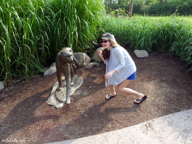 Having fun at the Cincinnati Zoo! | Belle Brita