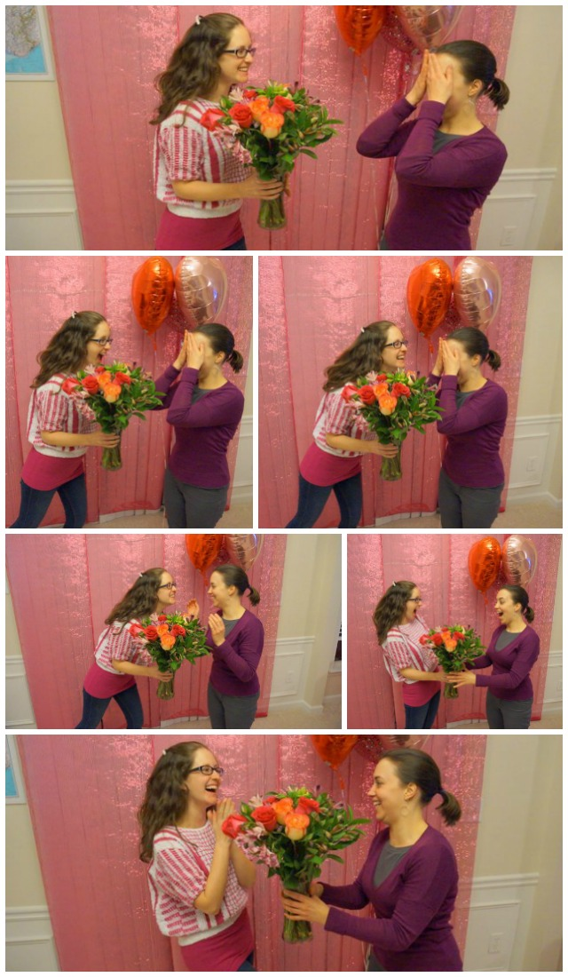 For Galentine's Day, I surprised my best friend with flowers! #ILookToHer