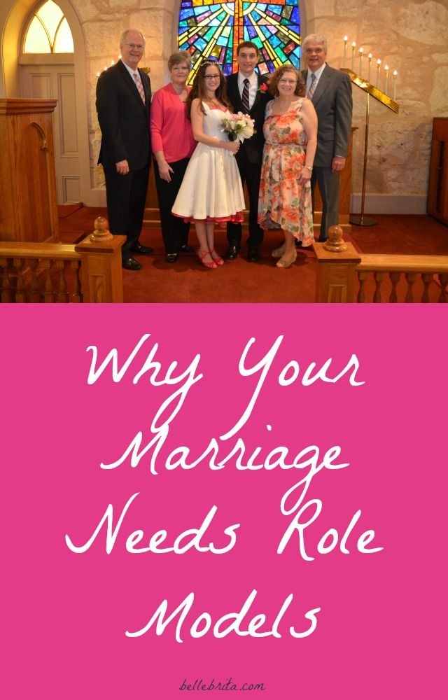 Do you have role models of a good marriage? I'm so grateful to have had several! | Belle Brita