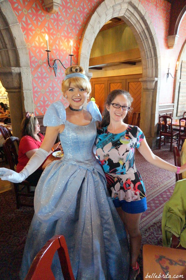 My husband and I had a total blast at our character breakfast--during a trip to Disney World without kids! | Belle Brita