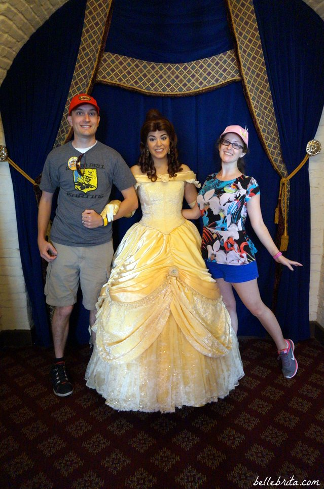 Meeting Belle in Norway at EPCOT! | Belle Brita