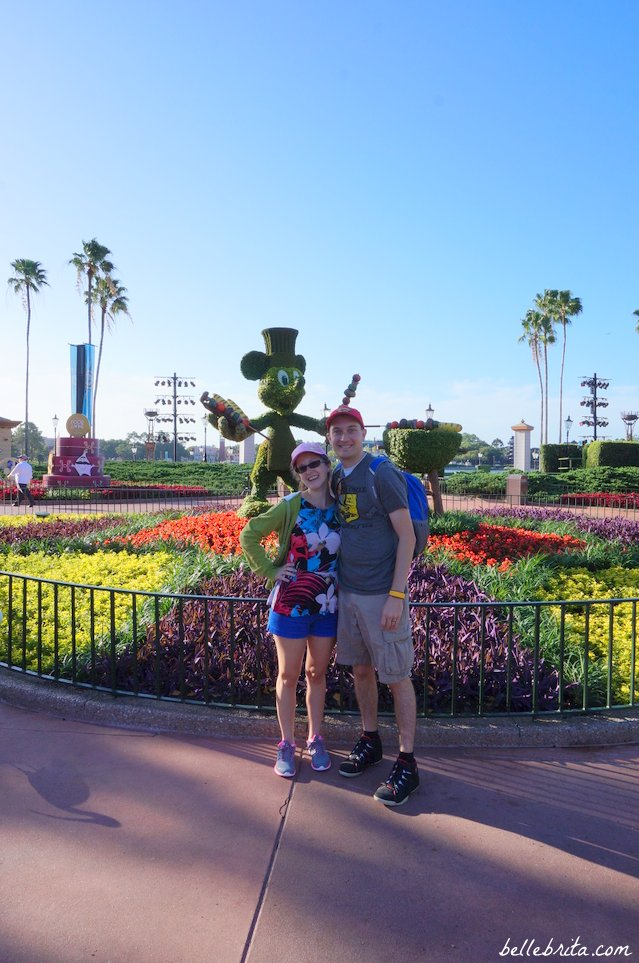 Early in the morning at EPCOT | Belle Brita