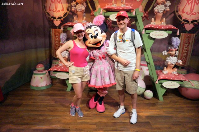 Who needs kids to enjoy Disney World? Not Minnie!   Belle Brita