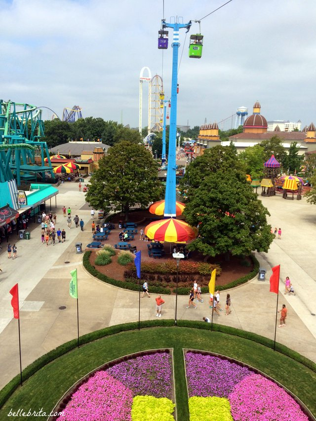 For a relaxing break in Cedar Point, try the Sky Ride. Keep reading for more tips on what to do in Cedar Point other than roller coasters!