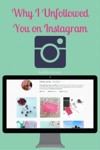 Losing followers on Instagram? You might be making these mistakes! | Belle Brita