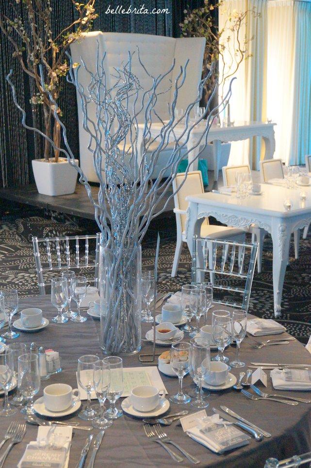 Silver, sparkly wedding in Montreal | Belle Brita