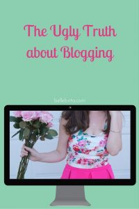 I love authentic blogging, but even I hide part of myself from my readers. | Belle Brita