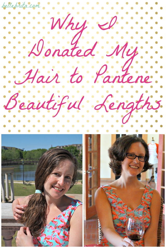I Donated My Hair To Pantene Beautiful Lengths Belle Brita