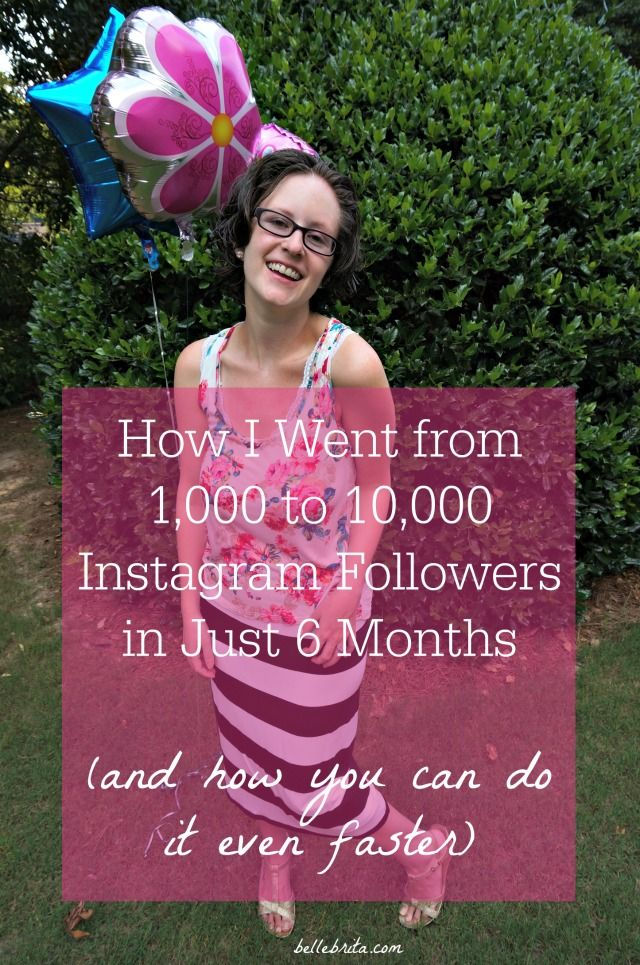 I've shared my two major secrets for how I gained 9,000 Instagram followers in just 6 months. Pin now, read later! | Belle Brita