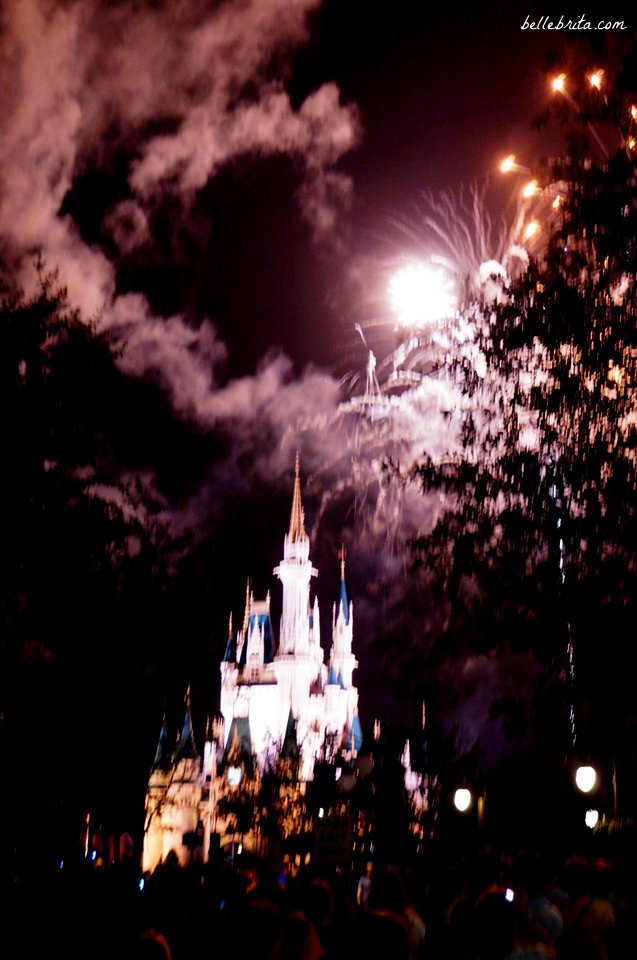 No Disney trip is complete without fireworks! | Belle Brita