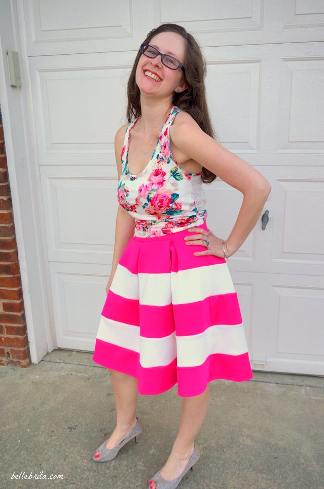 How to mix pink patterns | Belle Brita
