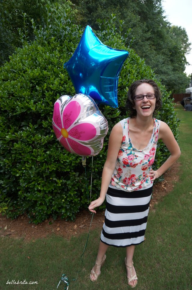 Easy way to mix florals and stripes   Belle Brita