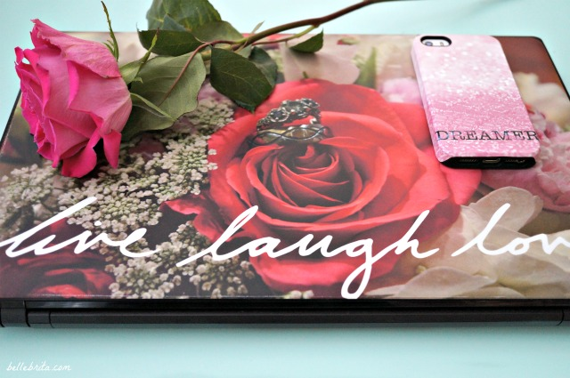 My honest thoughts on CaseApp's laptop skin and iPhone case. | Belle Brita