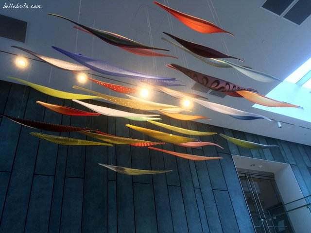 Glass boats welcome visitors to the Columbus Museum of Art | Belle Brita