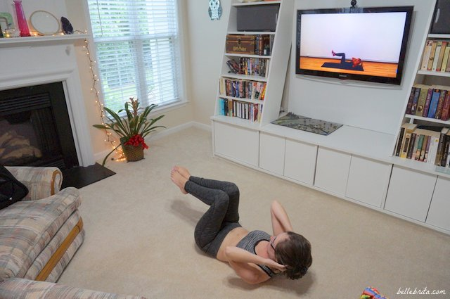 Express Abs is intense. Read my full Hey Workout review for more. | Belle Brita
