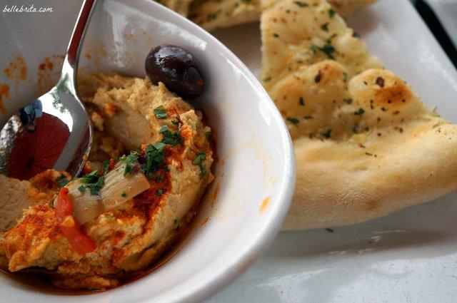 Hummus at Milestone 229 | Belle Brita