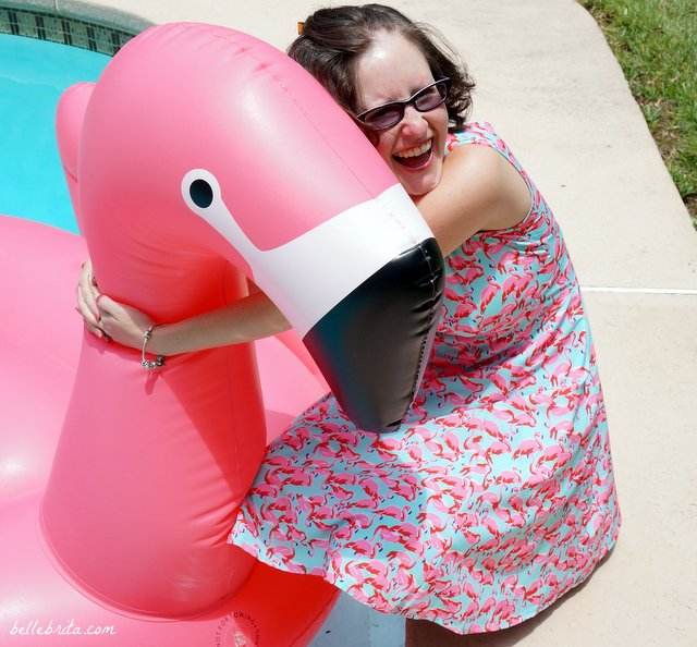 Does your girlfriend want a flamingo dress or a floatmingo for Christmas? | Belle Brita