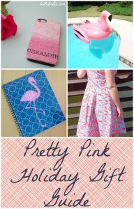 Pretty Pink Holiday Gift Guide