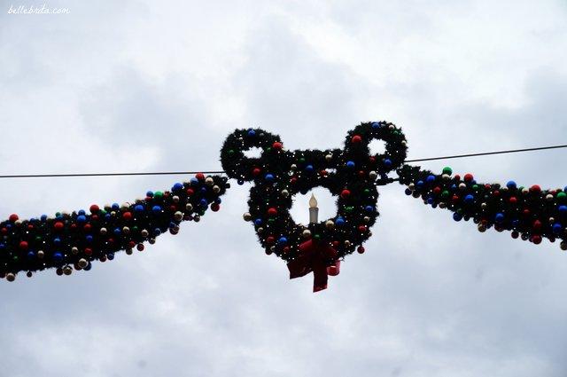 Christmas decorations at Disneyland Paris   Belle Brita