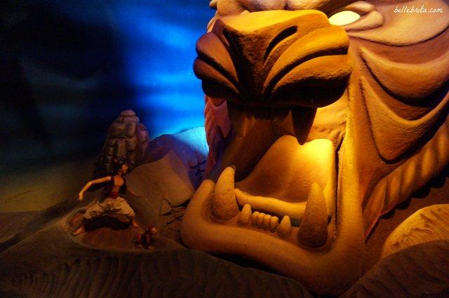 Aladdin comes to life in Adventureland   Belle Brita