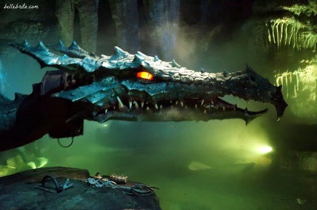 Underneath the Sleeping Beauty Castle, a dragon lurks   Belle Brita