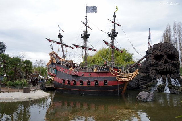 Pirates of the Caribbean, Disneyland Paris | Belle Brita
