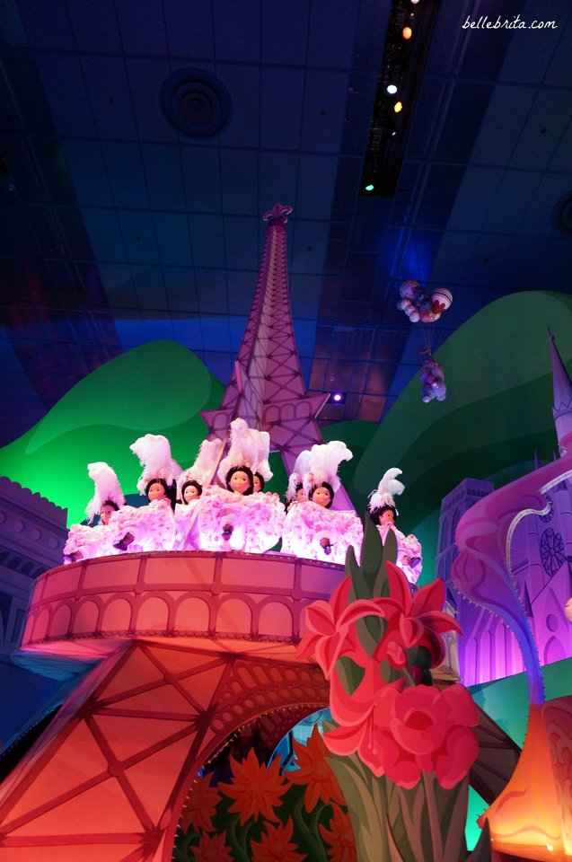 Eiffel Tower in It's a Small World in Disneyland Paris | Belle Brita