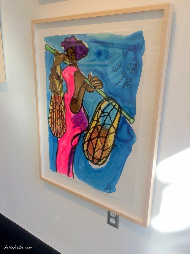 Aminah Robinson, Hammond Harkins Gallery, Columbus, Ohio | Belle Brita