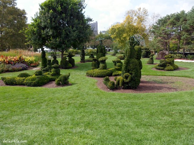 Columbus, Ohio art includes the Topiary Park | Belle Brita