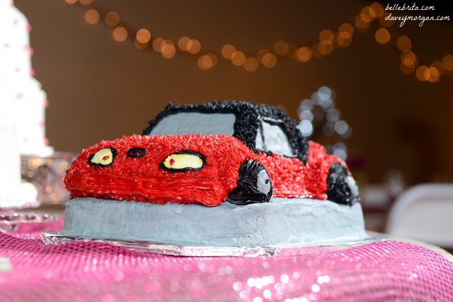 You know you love cars when your groom's cake is a Miata... | Belle Brita