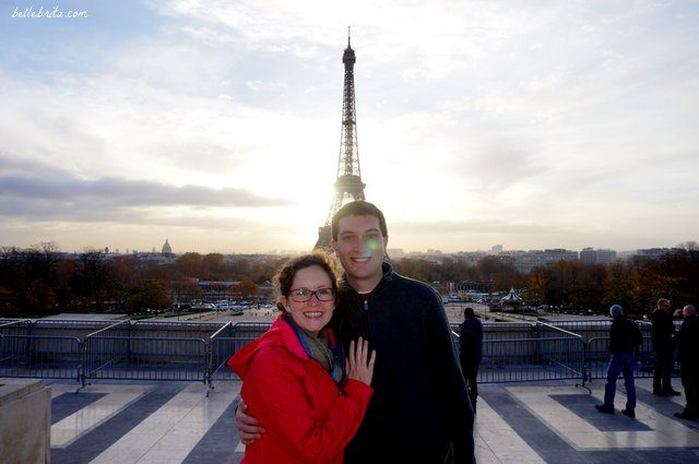 My husband and I loved our trip to Paris in November! | Belle Brita