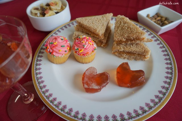 Sandwiches, small desserts, and other finger foods are the perfect menu items for a tea party! | Belle Brita