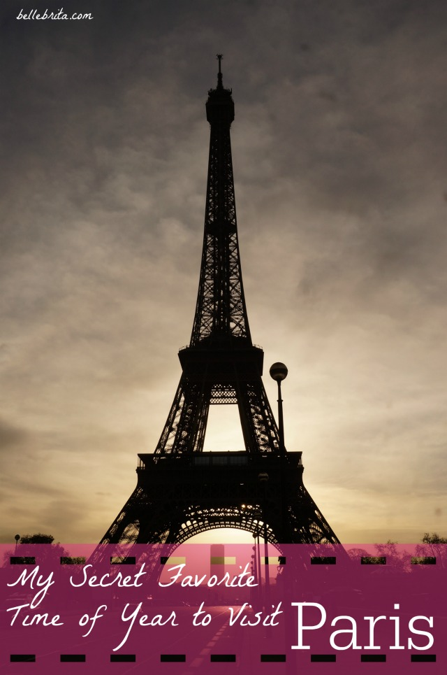 When is the best time of year to visit Paris? Based on my expat years in France, my answer is different than most! | Belle Brita