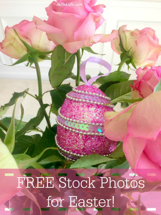 Download this FREE collection of Easter photos to use on your blog and Instagram! | Belle Brita