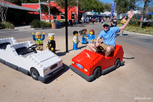 Alas, LEGOLAND Driving School is just for kids. Still, my husband enjoyed the LEGO cars! | Belle Brita