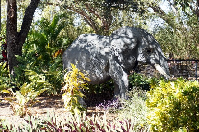 In Land of Adventure, the Safari Trek is a slow-moving ride to see jungle animals built from LEGOs | Belle Brita