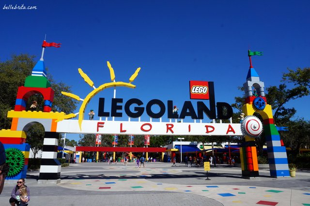 Entrance to LEGOLAND Florida Resort | Belle Brita