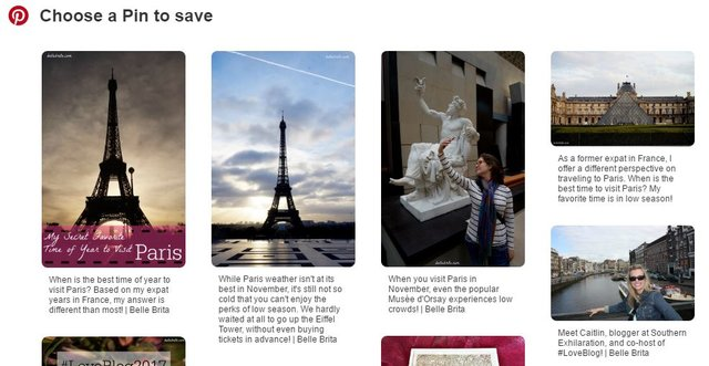 Update your old blog photos with Alt Text. These descriptions show up on Pinterest! | Belle Brita