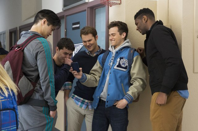 Teenage boys in 13 Reasons Why spread a photo and rumors about a girl | Belle Brita