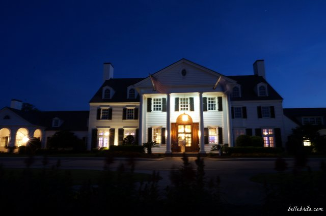 Ocean Forest Country Club at night | Belle Brita