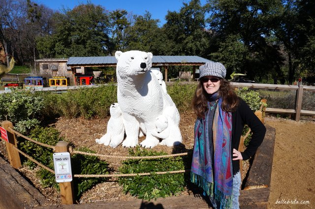 Real polar bears are my favorite, but I like LEGO polar bears too! | Belle Brita