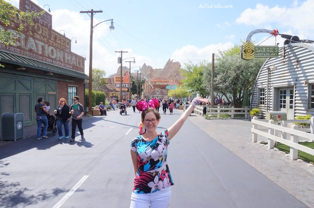Welcome to Cars Land! California Adventures completely recreated Radiator Springs. | Belle Brita