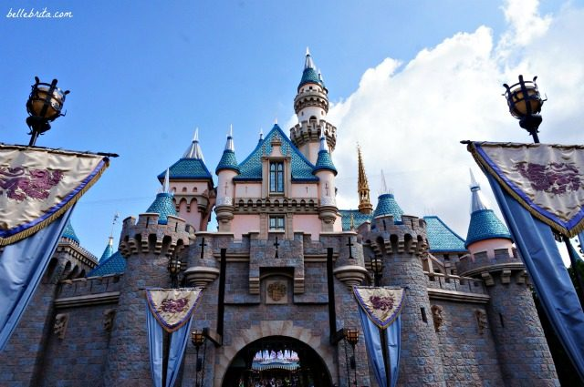 The original Sleeping Beauty Castle in California is beautiful, but it pales in grandeur to the Disney castles in Orlando and in Paris. | Belle Brita