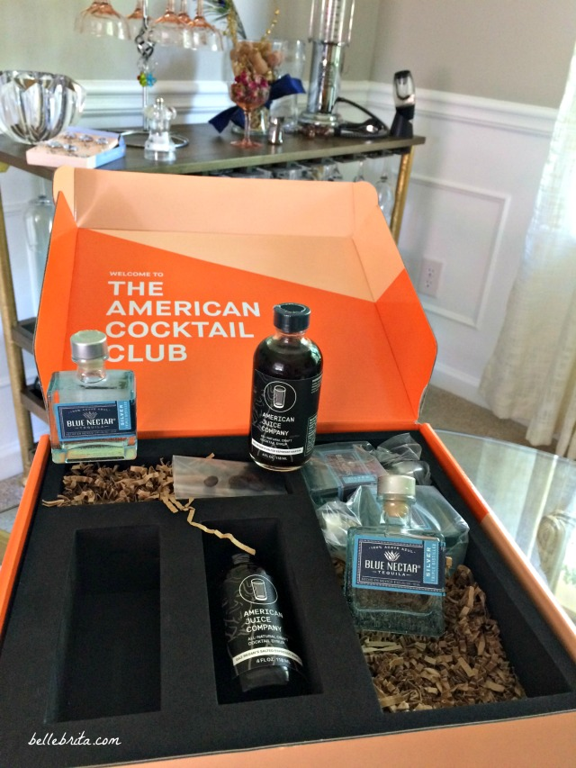 I received a free sample of the American Cocktail Club's monthly box featuring Blue Nectar Tequila. | Belle Brita