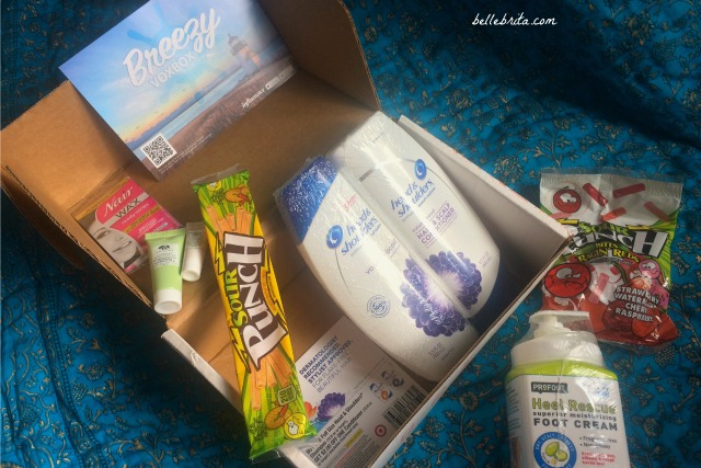 Influenster sent me the Breezy VoxBox | Belle Brita